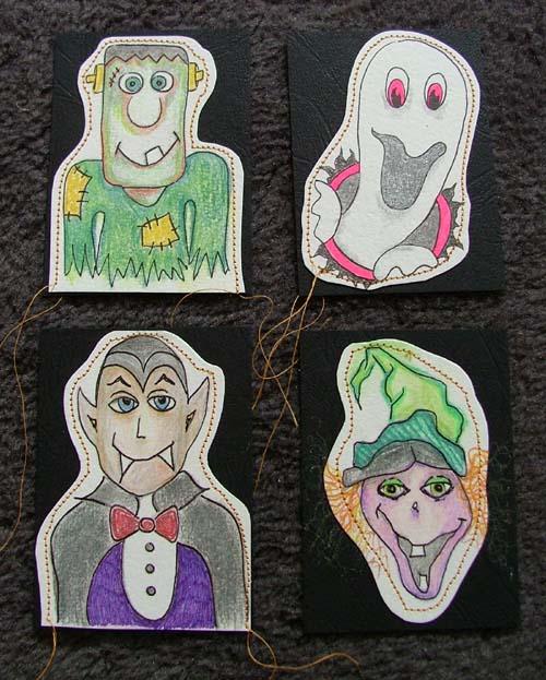 HalloweenATCs