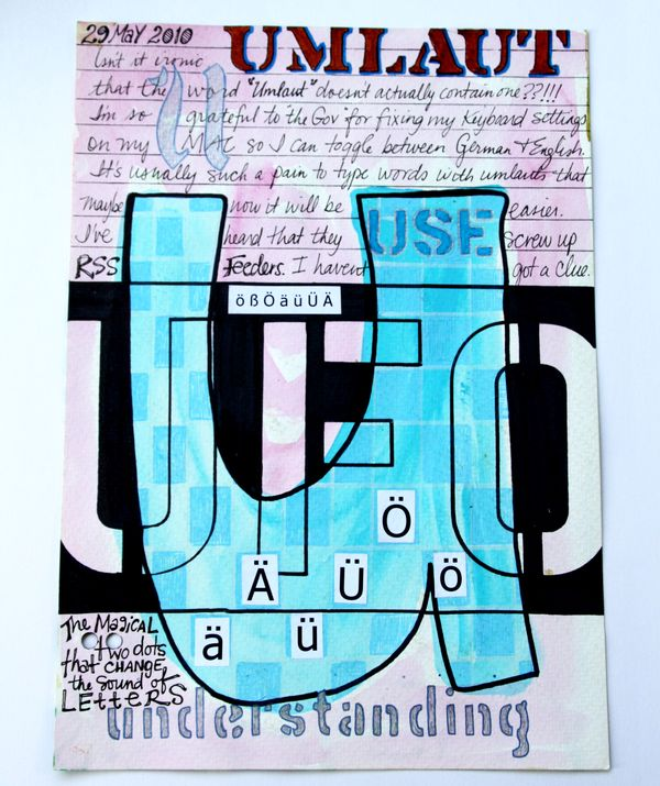 Ode to the Umlaut - Tales from Studio Mailbox