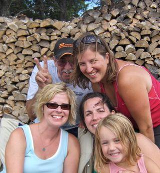 Craigo, Amy, Sue, TJ, Kylie