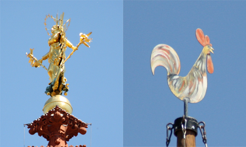 Finial Contrast